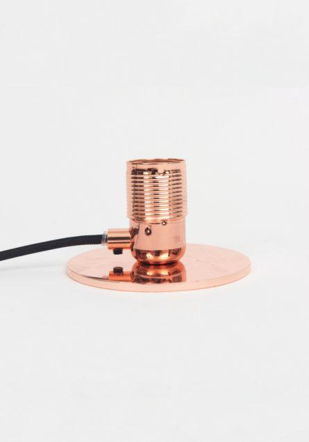 E27 Copper Table Lamp