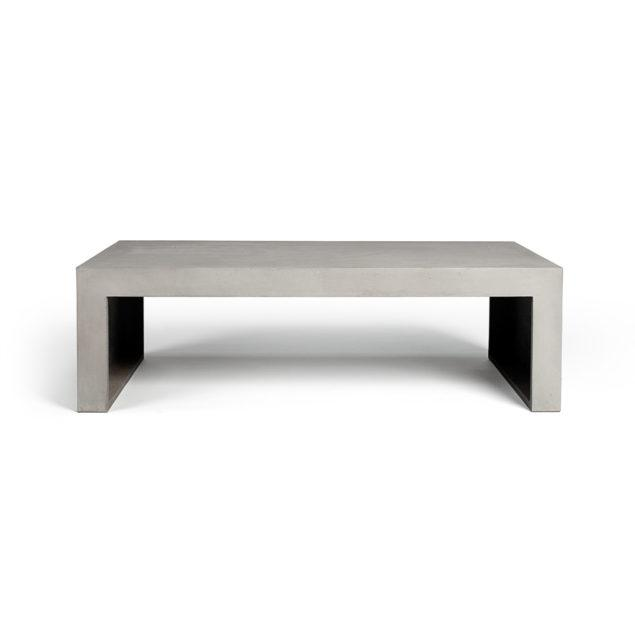 Concrete Rectangular Coffee Table