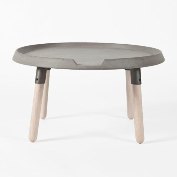 Concrete Mix Side Table