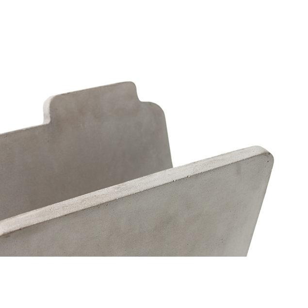 Concrete Magazine Rack