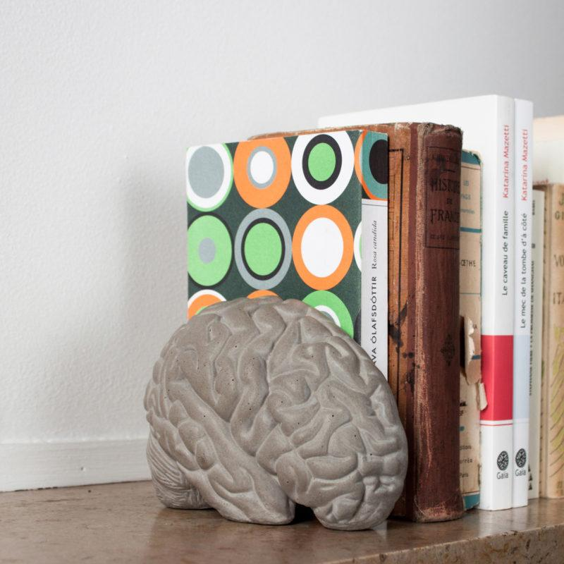 Concrete Gray Matter Book Ends