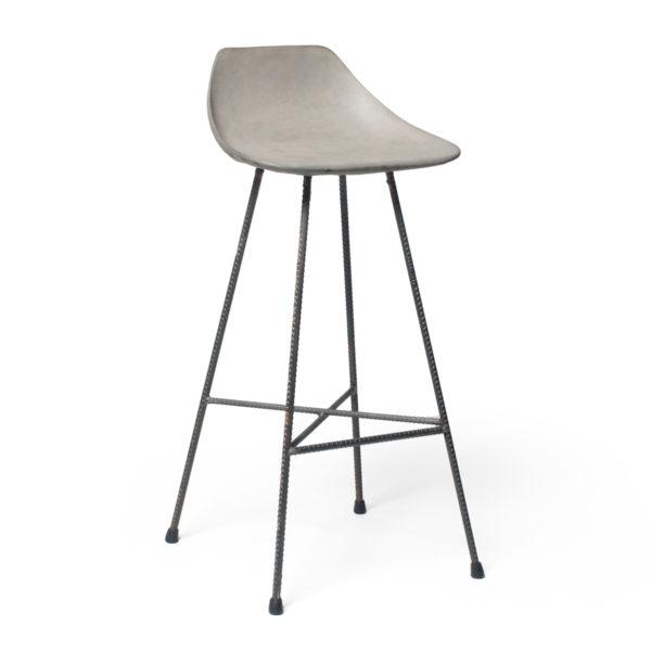 Concrete Hauteville Bar Chair
