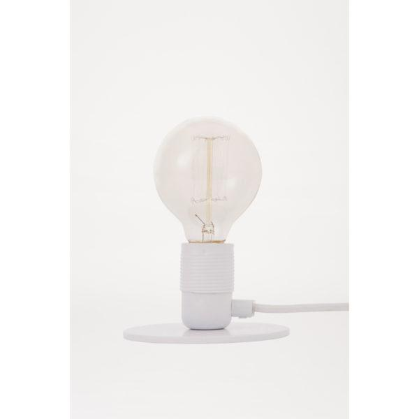E27 White Table Lamp
