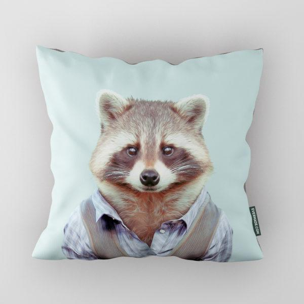 Panda Zoo Portrait Cushion
