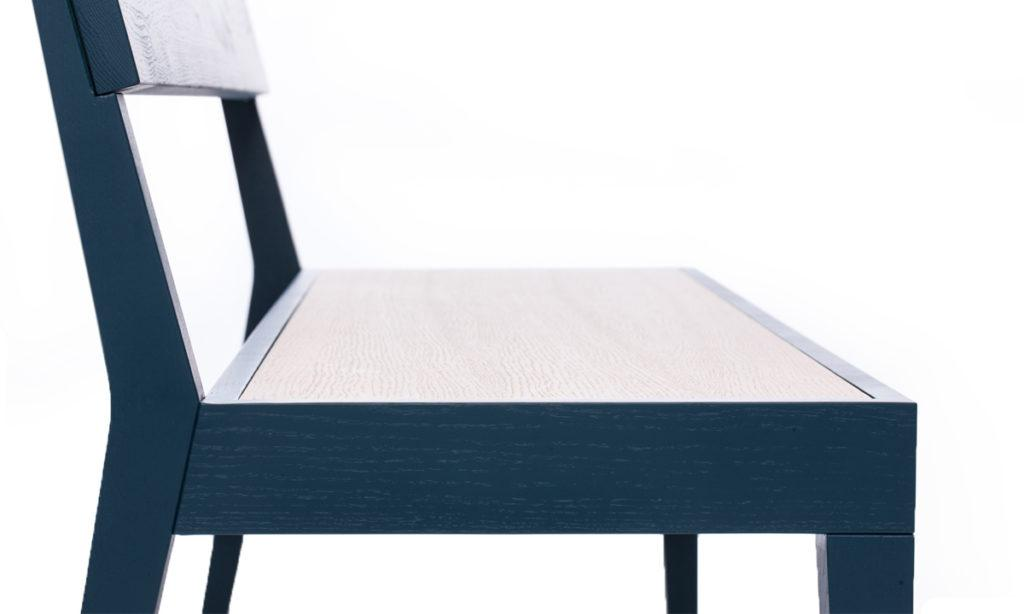 Cubo Bench - Wood Seat