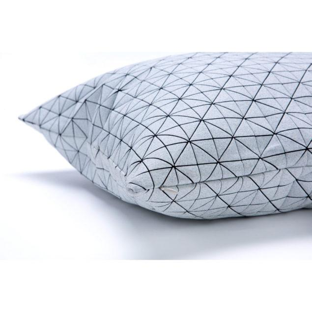 Geo 50x50cm Cushion - Black & White