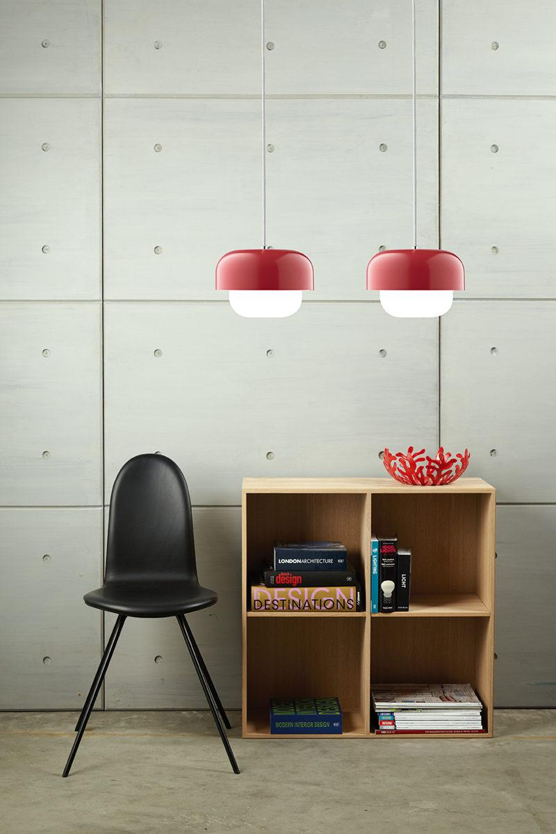 Haipot Red Pendant Lamp
