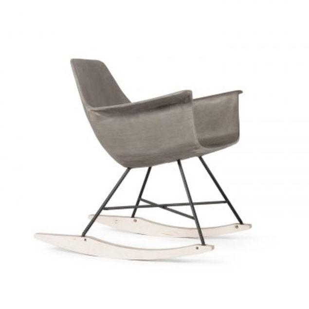 Concrete Hauteville Rocking Chair