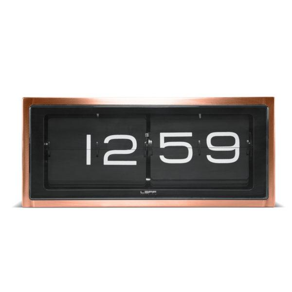 Brick Clock - Stainless Steel/White