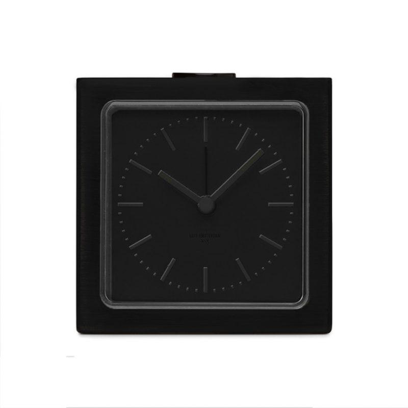 Block Alarm Clock - Black