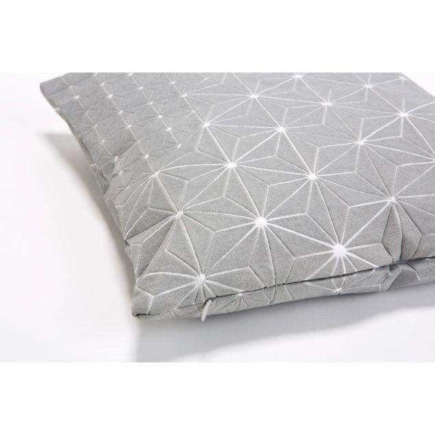 Tamara 50x50 Cushion - Grey & White