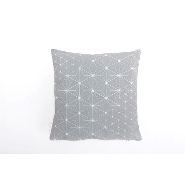Tamara 40x40 Cushion - Grey & White
