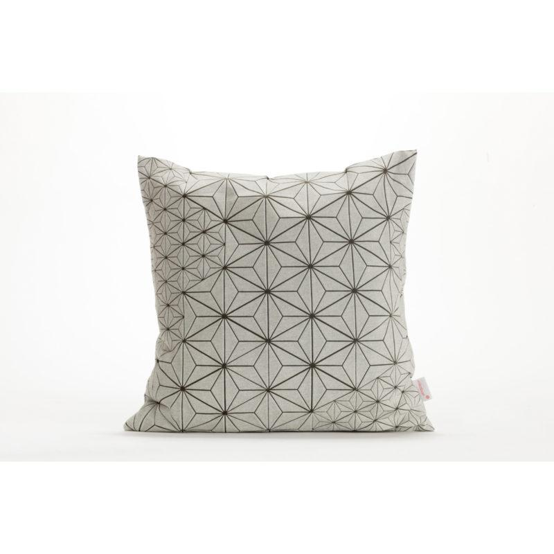 Tamara 40x40 Cushion - White & Olive