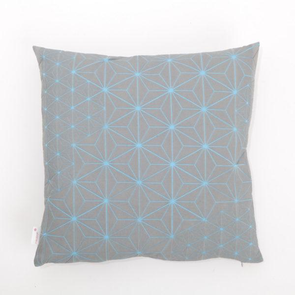 Tamara 40x40 Cushion - Grey & Blue