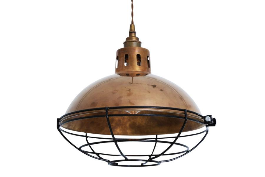 Chester Cage Industrial Pendant Light