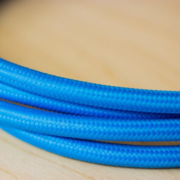 Fabric Braided Cable - Turquoise