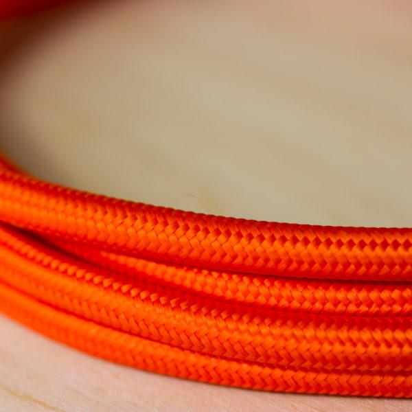 Fabric Braided Cable - Orange