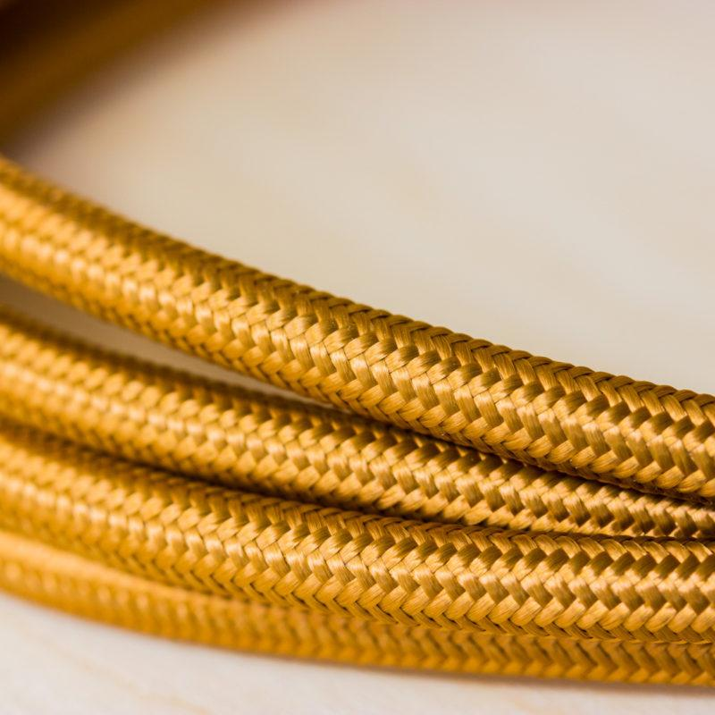 Fabric Braided Cable - Whiskey