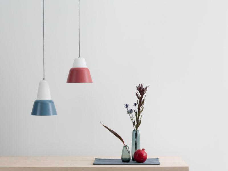 Modu S Pendant Lamp - Dark Red