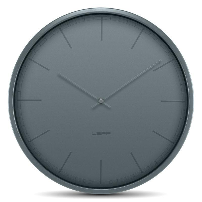Tone Wall Clock - Cool Grey