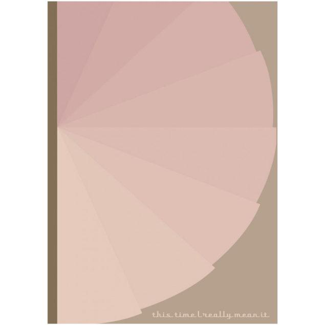 Danish Notebook - Pink