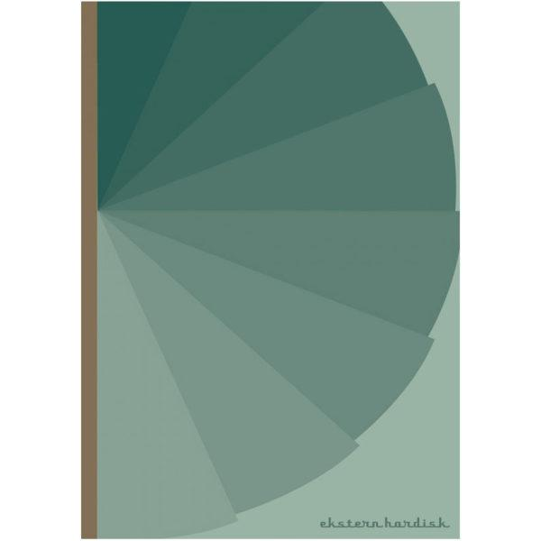 Danish Notebook - Green
