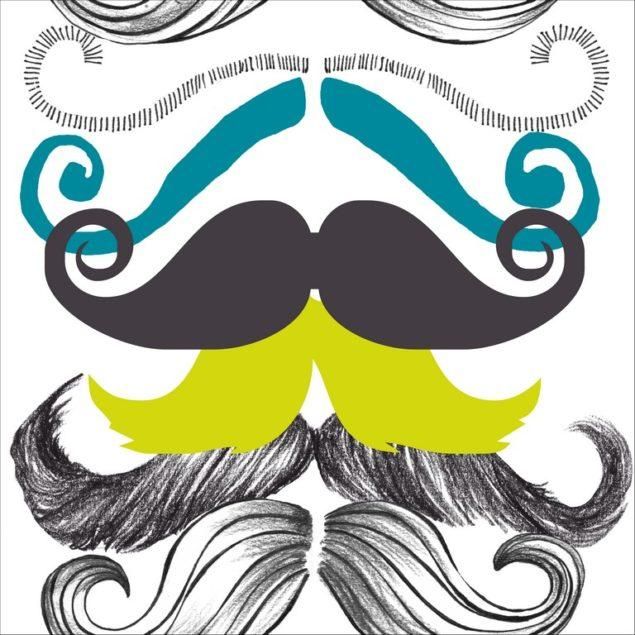 Different Moustaches Wallpaper