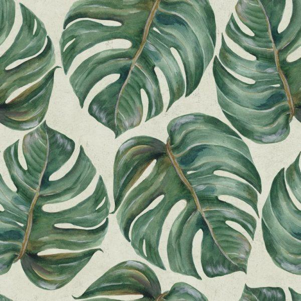 Tropical Leaf Wallpaper
