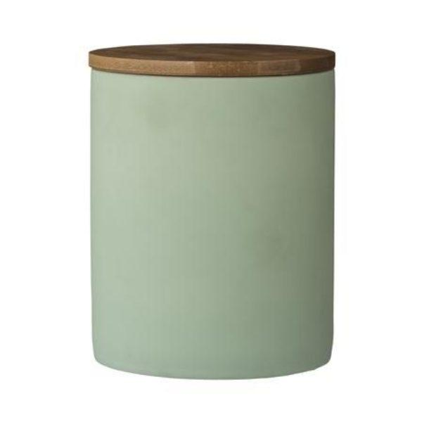 Olivia Rubber Coated Canister