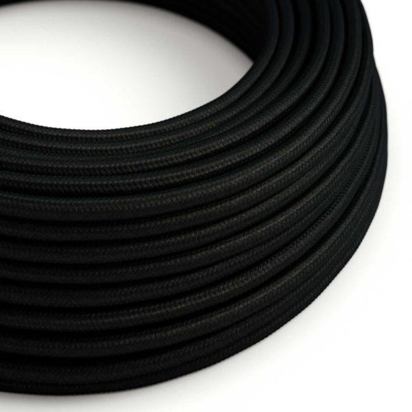 Fabric Braided Cable - Black