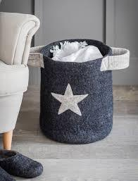 Felt Southwold Basket with Star