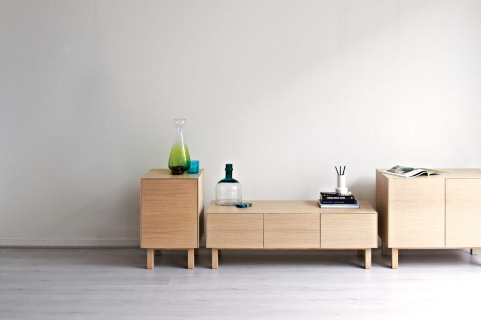 Cubo Side Table - 1 Door
