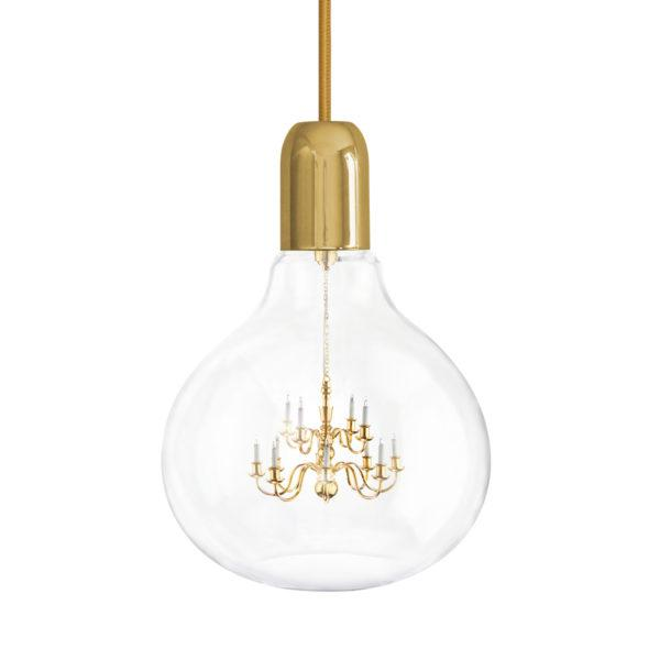 King Edison Gold Lamp