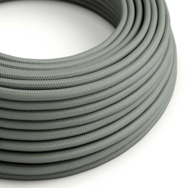 Fabric Braided Cable - Grey