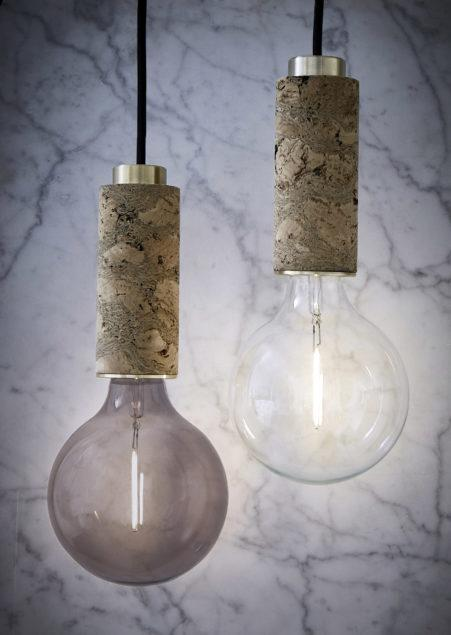 The Marbled Pendant Light