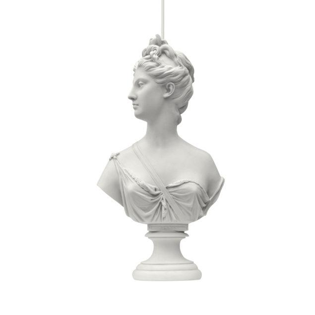 Muse Statue Pendant Lamp