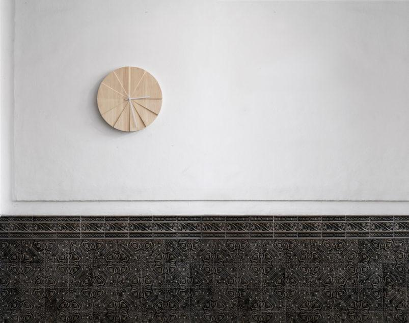 Scope Wall Clock - Natural