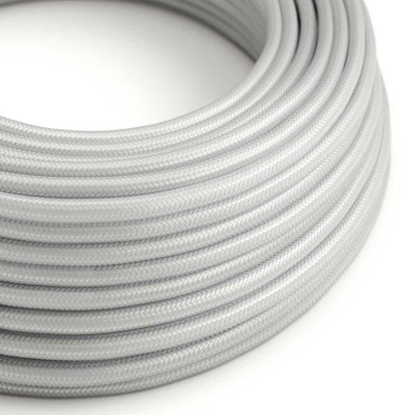 Fabric Braided Cable - Silver