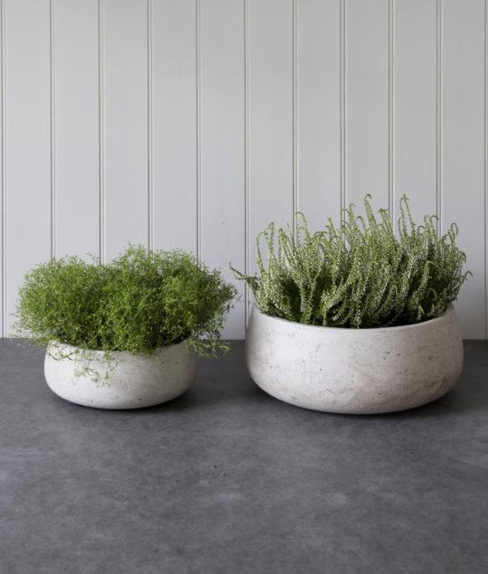 Stratton Set of 2 Stone Bowls
