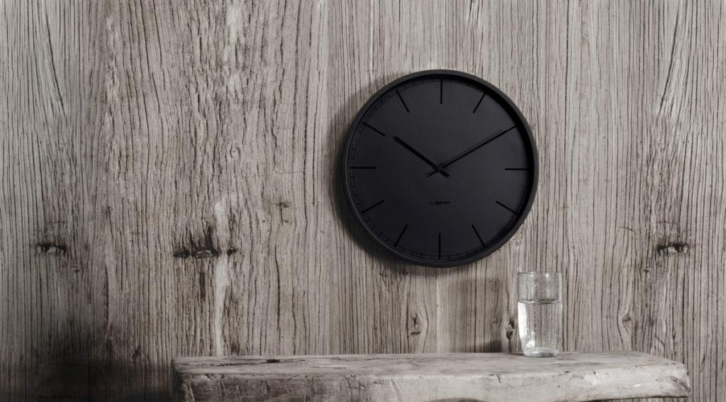 Tone Wall Clock - Black