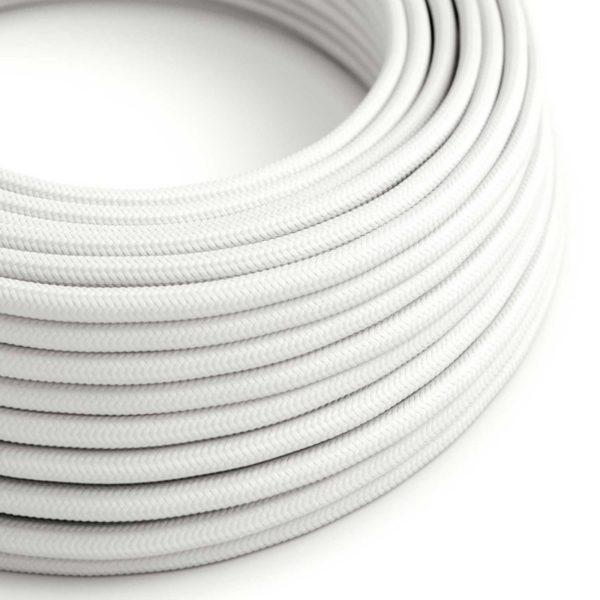 Fabric Braided Cable - White