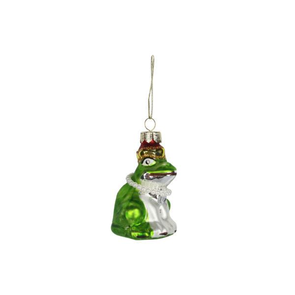 Glass Hanging Frog Tree Decoration