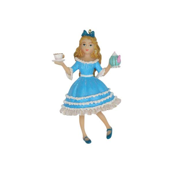 Alice in Wonderland Alice Christmas Tree Decoration