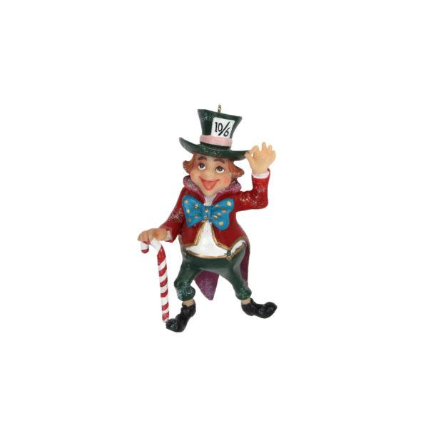 Alice in Wonderland Mad Hatter Tree Decoration