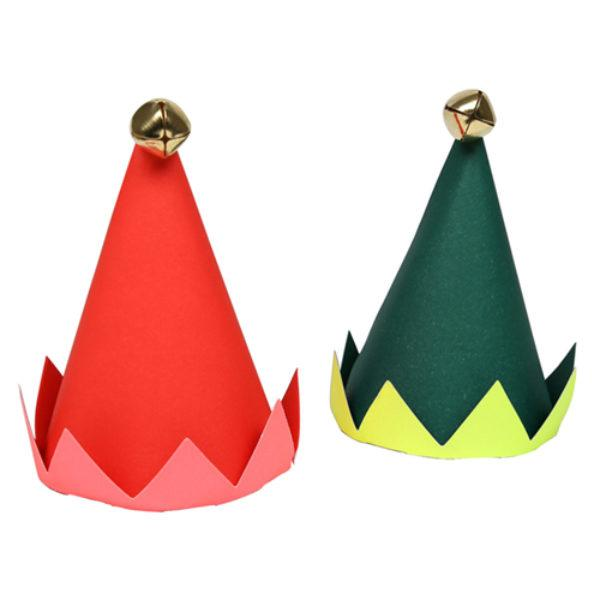 Mini Elf Christmas Party Hats