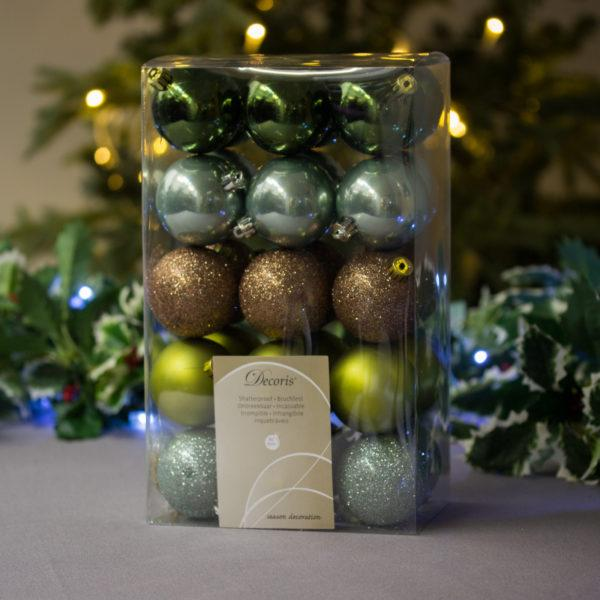 Nature Baubles 6cm Pack of 30