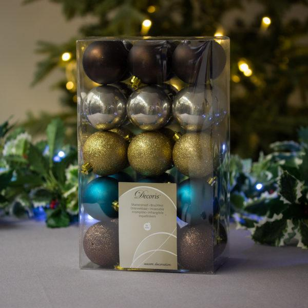 Gala Dinner Baubles 6cm Pack of 30