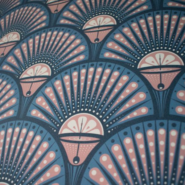 Deco Martini Blush Wallpaper