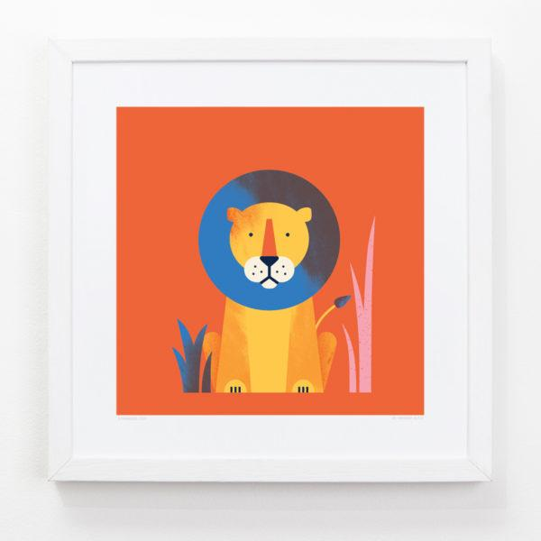 Lion Children's Art Print