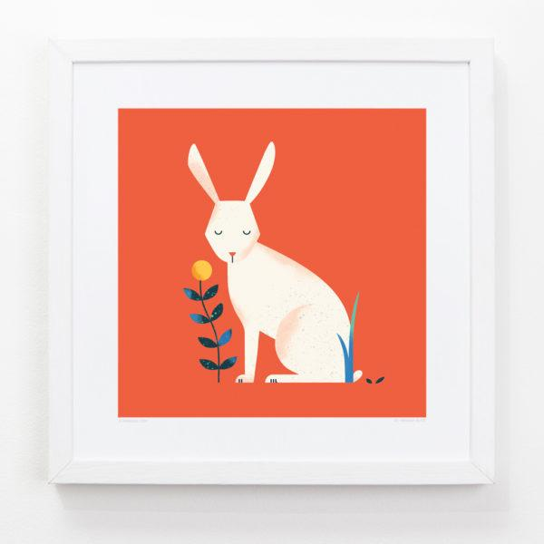 Rabbit Children's Art Print